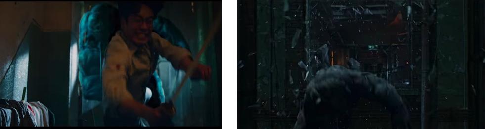 넷플릭스 스위트 홈 정재현 vs 근육 괴물