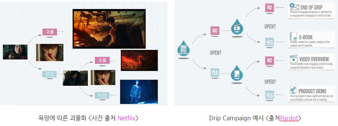 드립 캠페인 drip campaign 예시